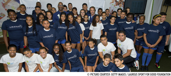 New Laureus football project launched in Rio de Janeiro
