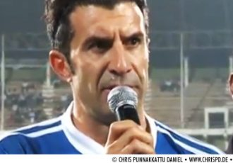 Luís Figo in Goa