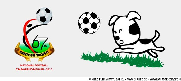 67th Santosh Trophy 2013 - Logo & Mascot
