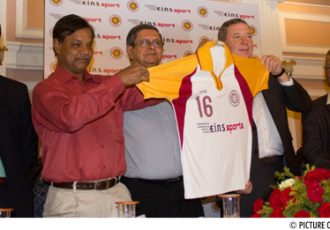 IFA & e.i.n.s. sport unveil West Bengal StateTeam jersey