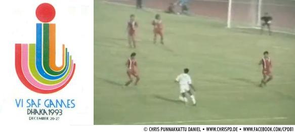 6th SAF Games 1993 - India v Nepal