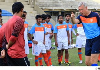 Wim Koevermans and the Indian national team