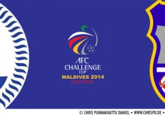 2014 AFC Challenge Cup Qualifier - India v Chinese Taipei