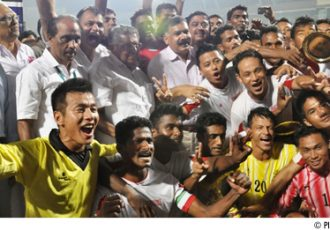 Services - The 67th Santosh Trophy 2013 Champions