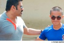 Bollywood star Sunil Shetty and India skipper Sunil Chhetri