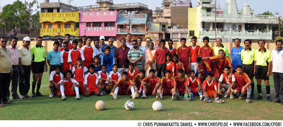 19th FAO Debabrata Kar Memorial Inter School Football Tournament 2013