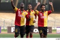 East Bengal players celebrating