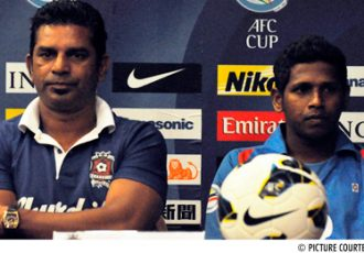 Willy Moraes and Jaison Vales (Churchill Brothers SC)