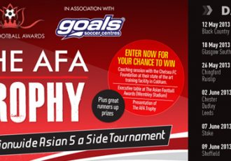 'Asian Football Awards Trophy' Fives tournament