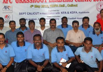 AFC Grassroot Leaders Clinic in Kozhikode