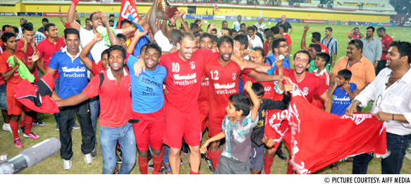 Churchill Brothers SC crowned I-League champions 2012/13