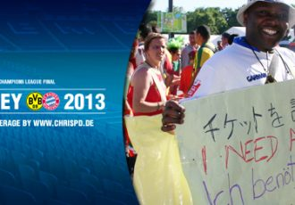 German fans on a hunt for UEFA Champions League final tickets