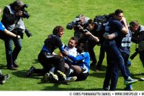 Arminia Bielefeld gains promotion to the 2nd Division Bundesliga