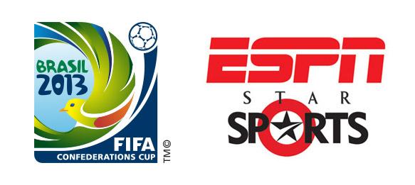 FIFA Confederations Cup Brazil 2013 on ESPN-Star Sports