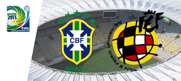 FIFA Confederations Cup Brazil 2013: Brazil v Spain