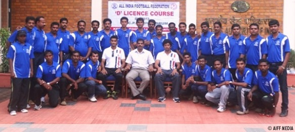 AIFF D-License Courses conducted by the Kerala Football Association (KFA)