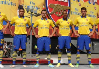 Arsenal FC 2013-14 away kit