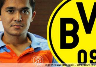 Sunil Chhetri and Borussia Dortmund
