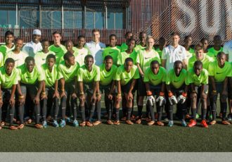 Manchester City inspire Nike's Elite Young Footballers in Soweto