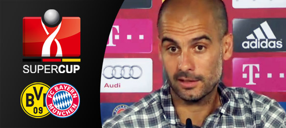 DFL Supercup - Pep Guardiola