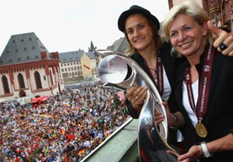 UEFA Women's EURO champions Germany welcomed by thousands of fans