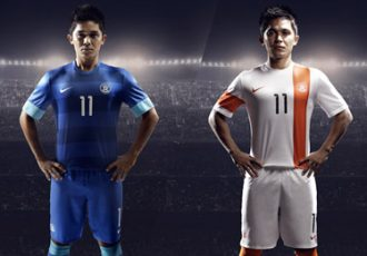 Nike unveils the new Indian national football team kit