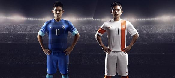 timeless design 4a51e 17e3e Nike unveils the new Indian national football team kit » The ...
