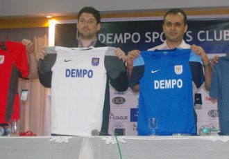 Dempo SC unveil new jersey