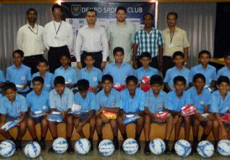 Dempo SC partners with St. Brittos High School Mapusa