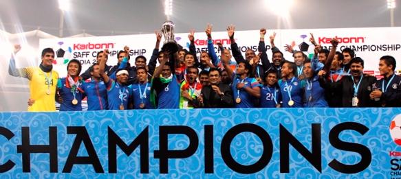 SAFF Champions India