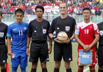 Sunil Chhetri ahead of the Nepal match