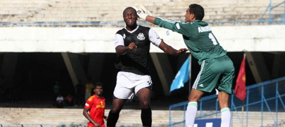 Mohammedan Sporting Club match action