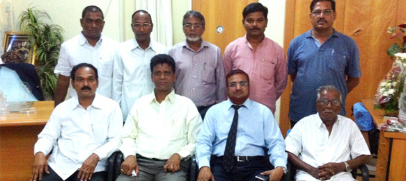 Elected members of the Andhra Pradesh Football Association