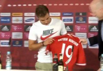 Mario Götze at Bayern Munich