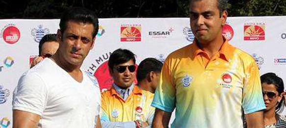 Bollywood superstar Salman Khan visits Milind Deora Junior Championship