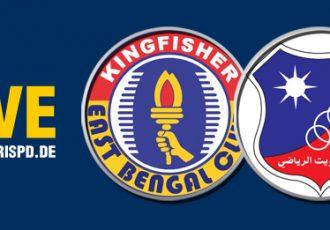 Live Streaming: East Bengal Club v Kuwait SC
