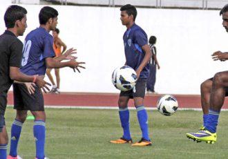 Mumbai FC training session
