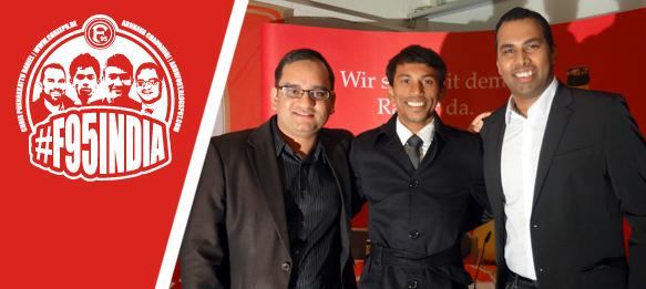 F95India - Arunava Chaudhuri, Godwin Franco and Chris Punnakkattu Daniel