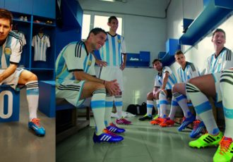 adidas presents the new Argentina jersey