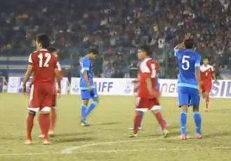 VIDEO: India 2-0 Nepal