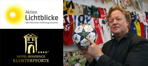 Charity Auction: Original UCL Final matchball with Bayern Munich autographs