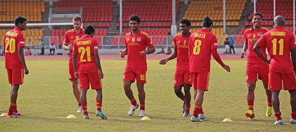 Pune FC training session