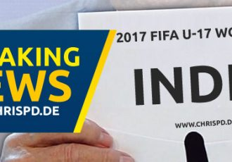 Breaking News: India to host 2017 FIFA U-17 World Cup