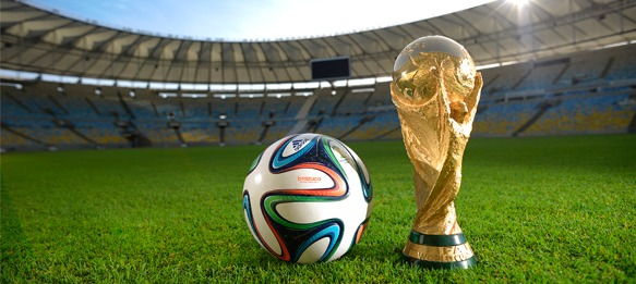 """brazuca"", the official 2014 FIFA World Cup Brazil match ball"