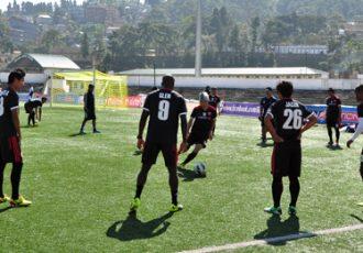 Shillong Lajong FC training session