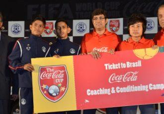 Coca-Cola and AIFF sign strategic alliance for 2017 FIFA U-17 World Cup