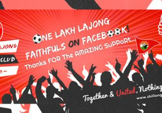 Shillong Lajong FC crosses 100,000 Likes on Facebook