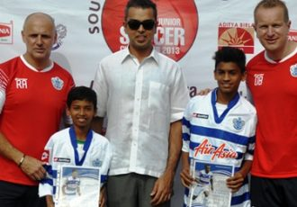 QPR Academy Camp 2013 in Mumbai