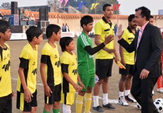 EDU Football League Opening Ceremony
