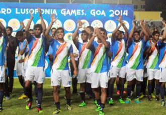 Goa-India football team